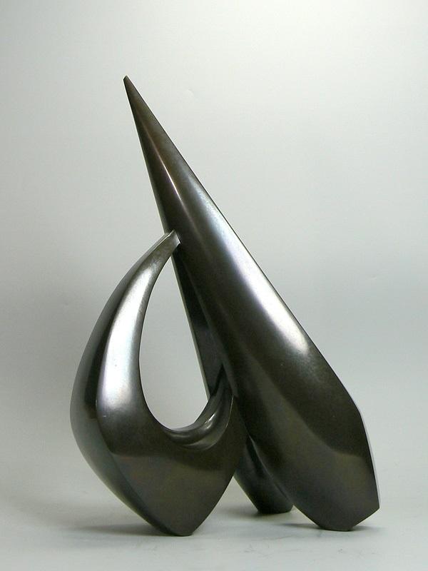 河西泰三作 鋳銅彫刻