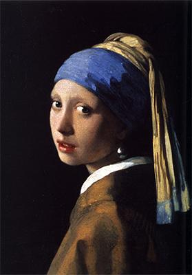 「真珠の耳飾りの少女」ヨハネス・フェルメール