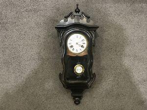 ユンハンスミニヴァイオリン型掛時計