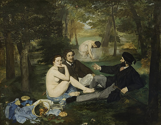 「草上の昼食」エドゥアール・マネ