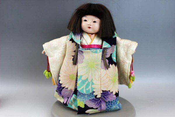 藤村明光の市松人形 女の子 32cm