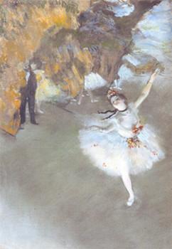 「踊りの花形/エトワール/舞台の踊り子」エドガー・ドガ