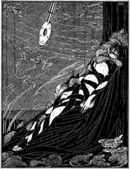 挿絵「落穴と振子」ハリー・クラーク