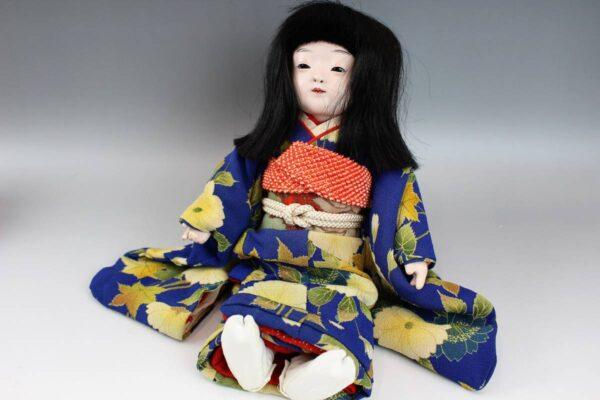 藤村明光の市松人形 女の子 38cm
