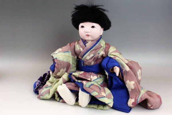 藤村明光の市松人形 男の子 38cm