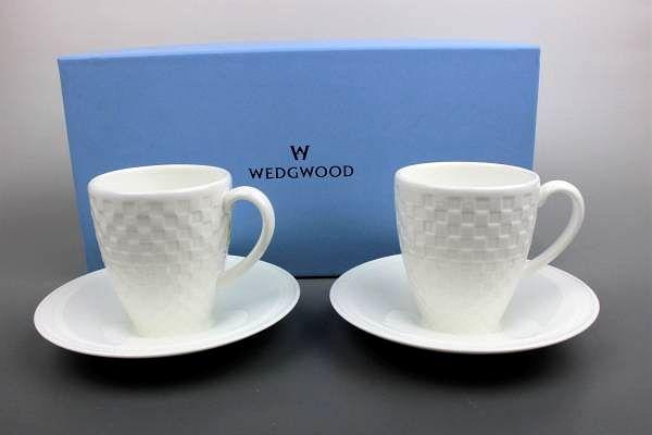 ウェッジウッド ナイト&デイ ペアカップ&ソーサー