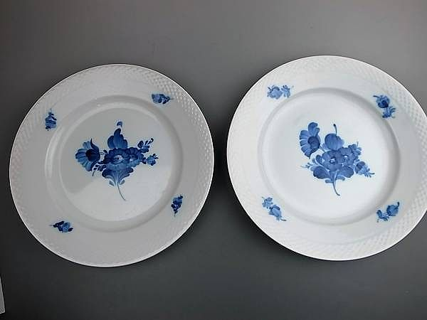 ロイヤルコペンハーゲン ブルーフラワー皿 2枚