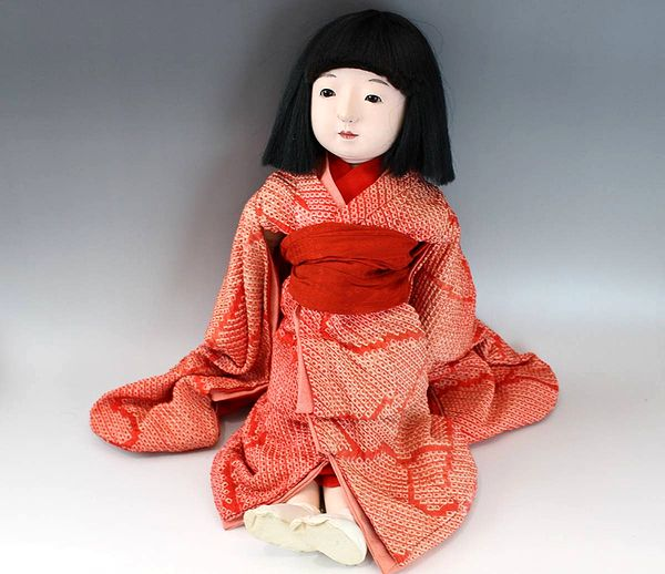 けうゑや・並河人形店 市松人形女の子53cm