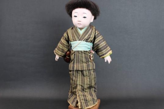 市松人形 男の子38cm