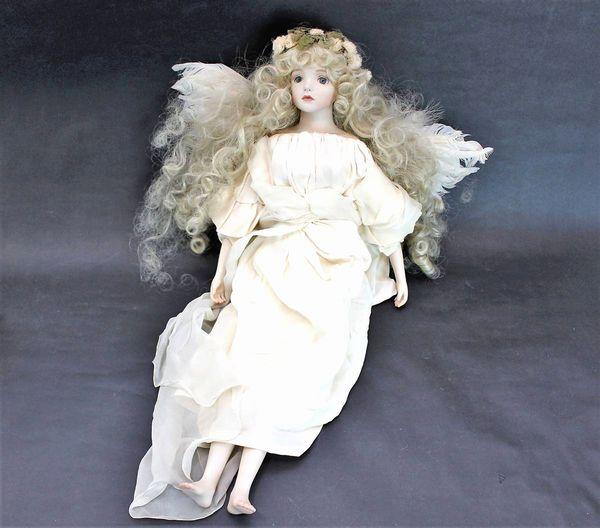 若月まり子 ビスクドール 天使 56cm