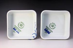 ロイヤルコペンハーゲン・ホワイトプレイン皿