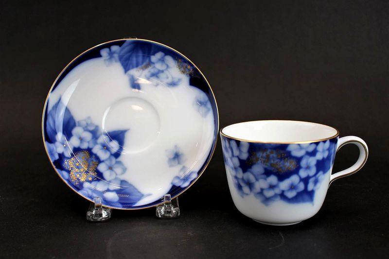 大倉陶園 コレクターズクラブ 紫陽花 カップ&ソーサー
