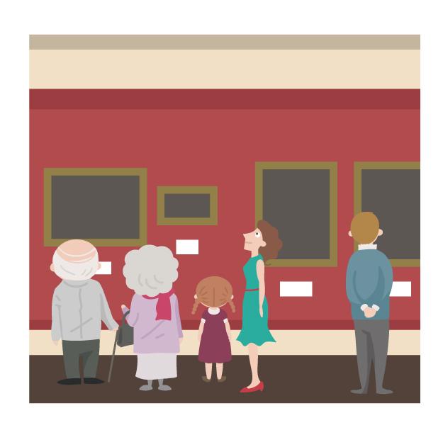 絵画の保存は温度と湿度の管理がポイント