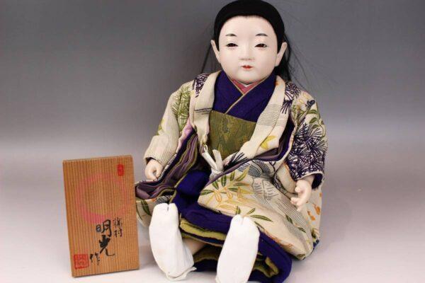 藤村明光の市松人形 男の子 42cm