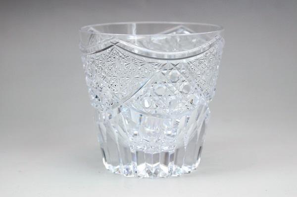 須田秀石江戸切子ロックグラス