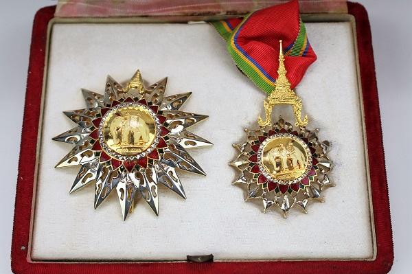 タイランド王国 白象二等勲章