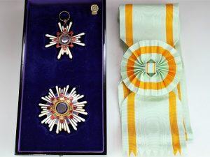 勲一等瑞宝章の買取