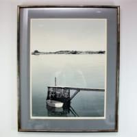 テッド・コーリアの木版画「SOUTH SHORE」