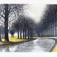 ジャック・デペルト「Le canal」石版画