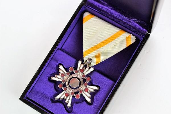 勲章の保存