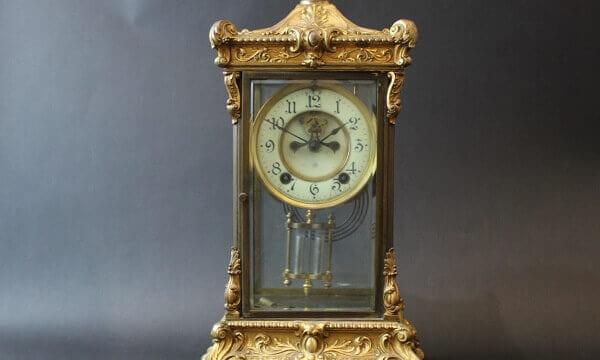 アンソニア真鍮製置き時計