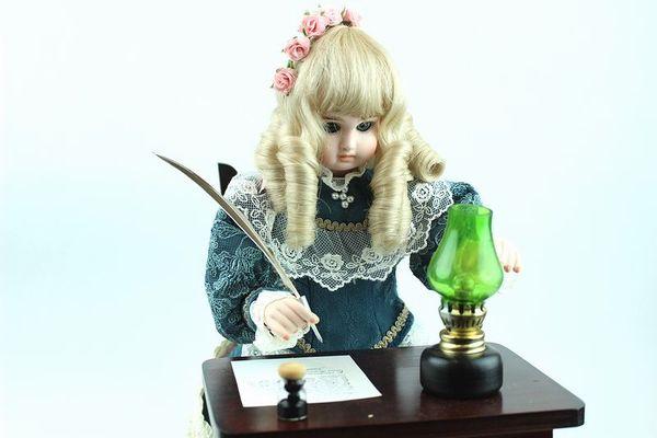 オートマタ Musee Baud 「手紙を書く少女」