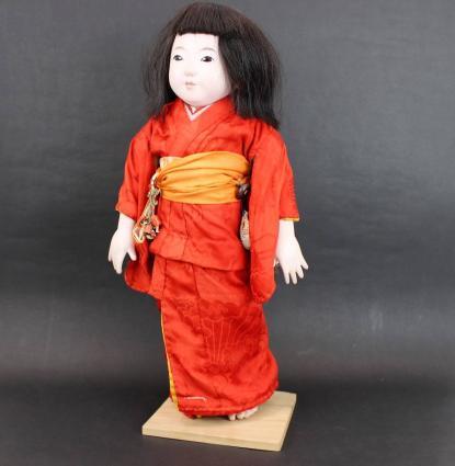 東玉製 市松人形52㎝