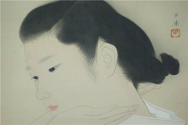 広田多津の美人画