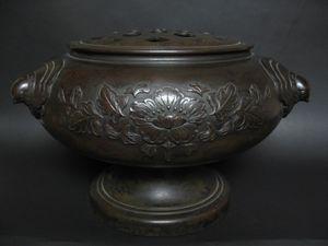 香取正彦作 銅製手焙火鉢