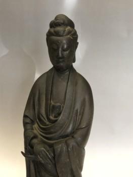 仏像 古銅如来立像