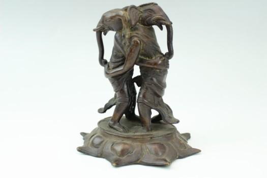 銅製大聖歓喜天立像