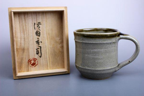 濱田庄司の益子焼マグカップ