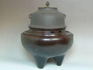 唐銅朝鮮風炉釜