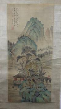 清時代の文人画家 王暈(模写)