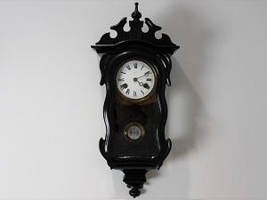 ユンハンス ヴァイオリン型 アンティーク掛け時計