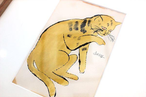アンディ・ウォーホル『サムという名の猫 No.64A』