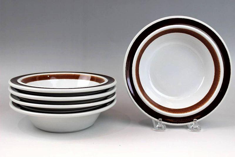 アラビア ロスマリン 深皿プレート18cm 5枚セット