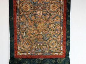 チベット曼荼羅掛け軸
