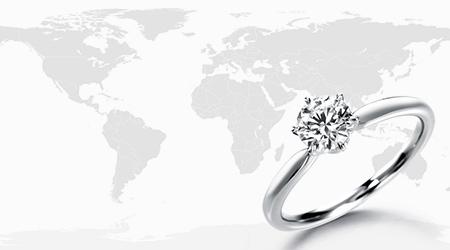 ダイヤモンドの主な産地