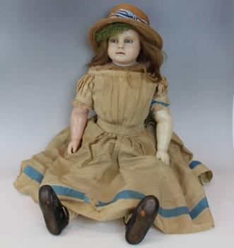 ワックスドール(蝋人形)女の子 約79cm