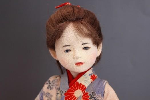 松浦加代子 縮緬着物人形