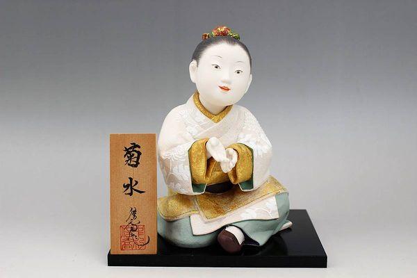 博多人形師 中村信喬作「菊水」