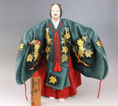 博多人形師 井上あき子作『六浦』