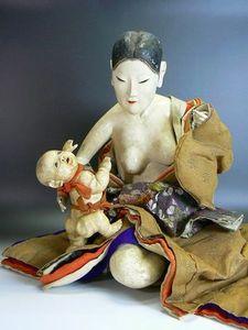 御所人形『鬼子母神』
