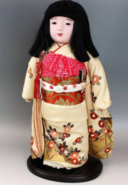 藤村明光の市松人形 女の子 44cm