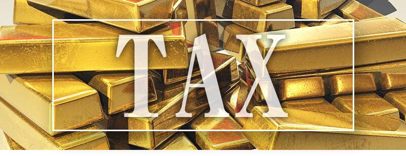 金を売った時の税金