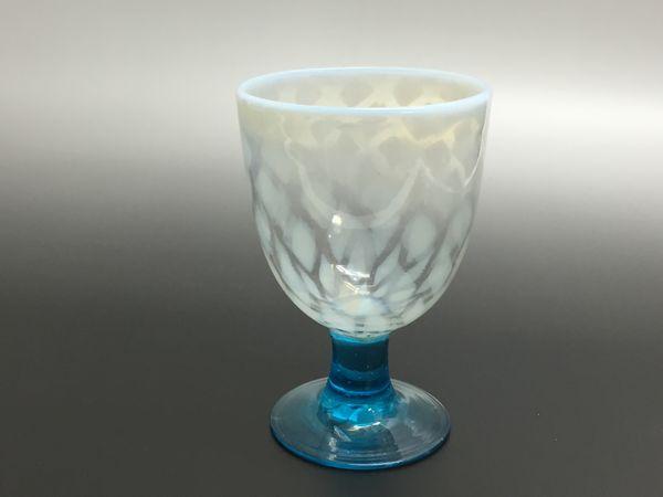 乳白菱形模様氷コップ