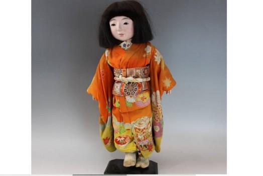 市松人形 桜國作 女の子