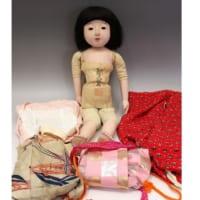 京都丸平・大木平蔵作 女の子市松人形