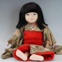 明光作 市松人形 女の子 38cm